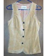 Artbro Corduroy Vest-Hippie 1960's Size 9 - $85.00