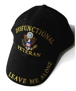 DYSFUNCTIONAL VETERAN VET EMBROIDERED CANVAS AD... - $10.70