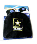 US ARMY LOGO QUALITY EMBROIDERED HEADREST COVER... - $18.66