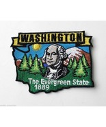 WASHINGTON USA THE EVERGREEN STATE EMBROIDERED ... - $4.65