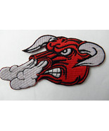 SNORTING BULL NOVELTY EMBROIDERED PATCH 5 x 2.5... - $4.65