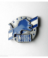 DETROIT LIONS NFL FOOTBALL  LOGO LAPEL PIN 1 inch - $5.59