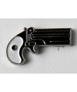 DERRINGER 38 PISTOL GUN NOVELTY LAPEL PIN 3/4 INCH - $4.42