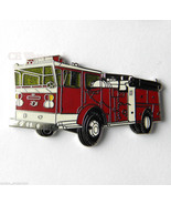 FIRE ENGINE FIREFIGHTER FIREMAN LARGE TRUCK LAP... - $5.12