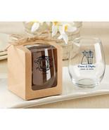 Kraft Stemless Wine Glass Gift Box (Set of 12) - $8.96