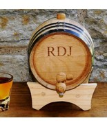 Personalized Mini Oak Whiskey Barrel - $60.09