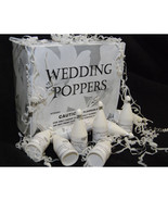Wedding Confetti Poppers Pack of 144 Wedding Po... - $61.24