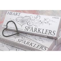 Heart Shaped Wedding Sparklers - 72 Wedding Sparklers Favors