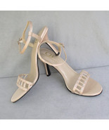 Sandals Ecru High Heel by C.B. Collections Size... - $18.00