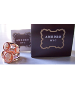 Amedeo NYC® Four Cornelian Cameo Band Ring - $25.00