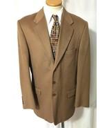 ING LORO PIANA Men's Camel 100% Cashmere Blazer... - $486.07