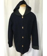LAUREN Ralph Wms Navy Charcoal Gray Wool Blend ... - $48.99