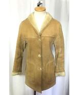 Vintage CUSTOM Made Wms Sheepskin Shearling Jac... - $195.99