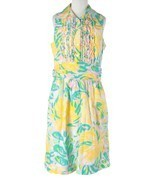 Women Lilly Pulitzer Essie Printed Shirtdress L... - $89.09