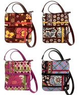 Vera Bradley Flipster Cross Body Bag Purse Butt... - $39.99