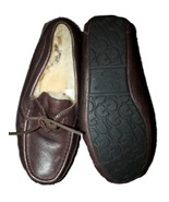 Men UGG Byron Sheepskin Brown Leather Slipper M... - $74.24