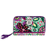 New Vera Bradley Turn Lock Ultimate Wallet In V... - $39.59