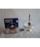 Queen Anne Silver Plate Jam Dish and Spoon by M... - $12.99