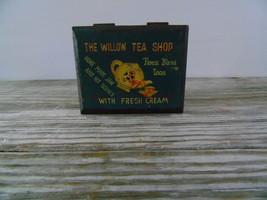Vintage Wood Tea Trunk Box The Willow Tea Shop ... - $14.50
