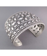 Navajo Native American Sterling Silver Hammered... - $791.01