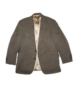 Men Oscar De La Renta Houndstooth Brown Wool Su... - $39.59