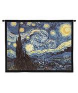 34x26 STARRY NIGHT Van Gogh Abstract Fine Art W... - $49.95