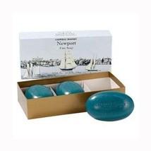 Caswell Massey Newport Bath Soap 3x 5.8 oz. Bars - $29.99