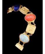 Vintage KENNETH LANE Egyptian Scarab Bracelet (... - $118.75