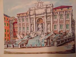 Trevi Fountain Print - $35.00