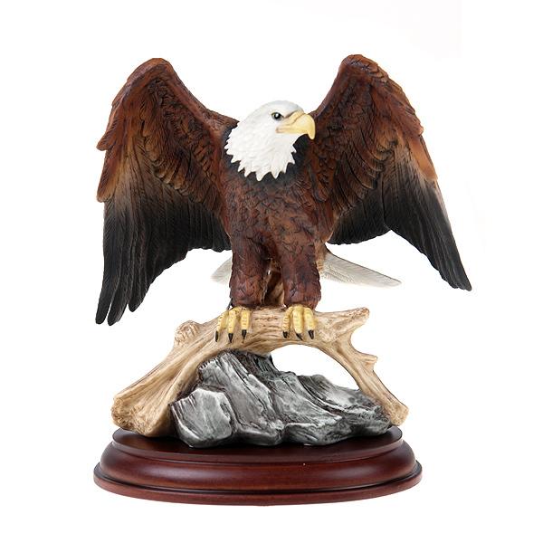 Maruri Studios 5 Quot Bald Eagle Porcelain Figurine American