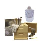 10 Frame Deluxe Beehive Starter Kit & Beekeepin... - $379.00