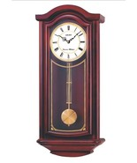 Seiko Mahogany Wood Pendulum Wall Clock - Chime... - $242.00