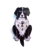 Border Collie S winging  Tail Pendulum Dog Wall... - $72.00