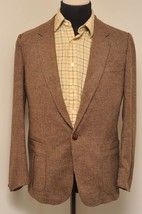 SUPERB VINTAGE LEVI CLASSICS BROWN CHECK TWEED ... - $100.98
