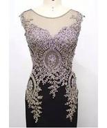 Style #JL15001 - Sleeveless Black Evening Dress... - $900.00