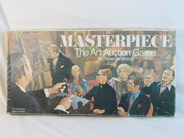 Masterpiece 1970 Board Game the Art Auction 100... - $57.92
