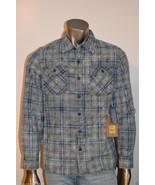 True Religion Men's Shirt Slim Fit Workwear Pla... - $59.00
