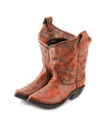 Outdoor Planter Western flair COWBOY BOOTS  Com... - $14.59