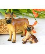 Vintage Hagen Renaker Dogs Boxer Mama 283 Puppy... - $29.95