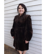 40s Sheared Beaver Fur Coat Brown Vintage Albre... - $166.00