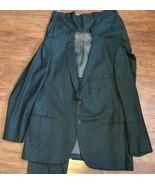 Vintage 60s Mens Suit Sharkskin Eagle Clothes 2... - $148.00