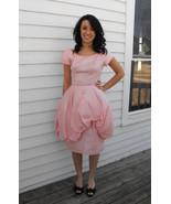 Vintage Prom Dress 60s Pink Party XS Bubblegum ... - $79.99