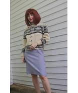 Nordic Wool Cardigan Sweater Vintage 50s 1950s ... - $39.99