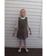 60s Girls Dress Paisley Vintage 1960s 10 12 14 ... - $19.99