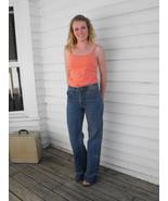 Vintage Hash Jeans Denim 70s 80s 34 Inseam 28 H... - $59.99