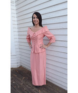 80s Gown with Off Shoulder Top Formal Cocktail ... - $39.99