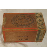 Antique La Espanola Empty Cigar Box 1870 OOAK - $477.99