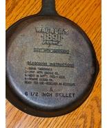 Wagner's 1891 Original 6.5 inch Skillet Cast Ir... - $19.99