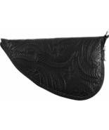 Classic Safari Tooled Black Leather Pistol Rug - $37.99