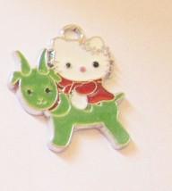 Hello Kitty Zodiac Pendant Necklace Charm Ename... - $5.00